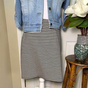 Loft Stripe Skirt